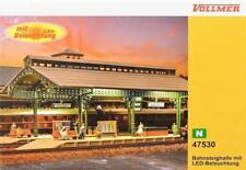 Vollmer 47530 (7530 ) N - Bahnsteighalle mit LED- Beleuchtung  NEU & OvP