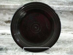 "Genuine Fiesta Homer Laughlin Dinner Plate 10.5"" Colors: Black, White, Meadow"