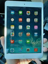 Apple iPad mini 1st Gen. 32GB, Wi-Fi, 7.9in - White & Silver tested and working
