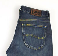 Lee Hommes Jeans Jambe Droite Taille W32 L32 APZ685