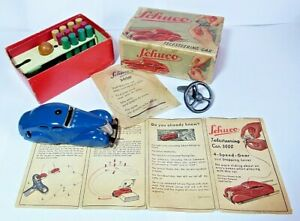 SUPERB SCHUCO 3000 TELESTEERING CAR WITH BOX AND INSTRUCTIONS 1930s ORIGINAL