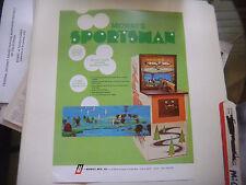 SPORTSMAN   MIDWAY     ARCADE GAME  FLYER