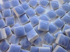 100pcs - 110grams Micro Ceramic Mosaic Tiles Light Blue BC5
