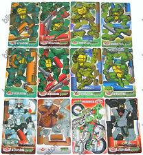 TMNT Teenage Mutant Ninja Turtles3D Trading Cards Figure Model Complete Set Pack