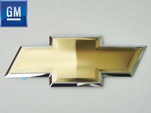 CHEVY TRAILBLAZER UPLANDER 2005 - 2009 FRONT GRILL GRILLE GOLD BOWTIE EMBLEM