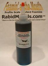 BLACK RUBBER TOUGHENED CA SUPER GLUE - 8 oz bottle **THICK** Cyanoacrylate