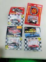 Racing Champions 1:64 NASCAR Lot Of  4 Die Cast Diecast Vintage B8