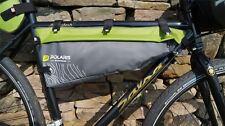 Polaris VENTURA FRAME BAG MID, Green, Green 5 ltr Bikepacking pack