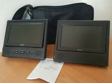 """Axion 7"""" Dual Screen Portable DVD Player AXN-6979!"""