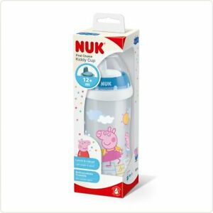 NUK PEPPA PIG Baby Kiddy Cup Training Cup Bottle 300 ml 12 Months+