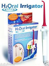 BRAND NEW Water Jet Shower PIK DENTAL PiC H2O Oral Irrigator Floss HEALTHIER GUM
