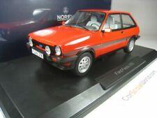 Ford fiesta XR2 1981 coche a escala rojo 1 18 Norev