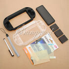 9in1 Accessory Pack Kit for Playstation PS Vita Crystal Case Protector Pen new