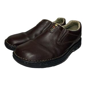 Merrell Men's World Legend Brown Air Cushion Ortholite Slip On Loafer Shoes 10M