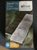 Elive AquaDuo Fish Tank Filter Cartridges Medium | 6 Pack