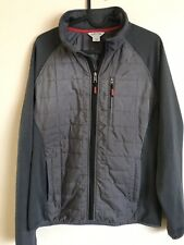 Men's ORVIS Fishing Quilted Light Weight Jacket Gray Medium $75+