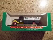 New 2000 Mini Miniature Hess FIRST Toy Truck TANKER MIB Amerada Hess