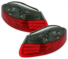 LED taillights set in RED BLACK for PORSCHE BOXSTER 986 TAIL rear LIGHTS