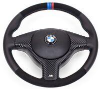 Volant en Cuir BMW M Volant E46 E39 X5 Avec Alcantara Blende. Avec Airbag
