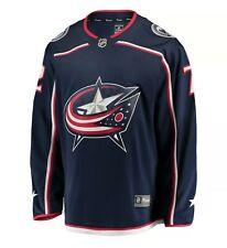 New! Fanatics NHL Columbus Blue Jackets Sergei Bobrovsky #72 Home Jersey Size L