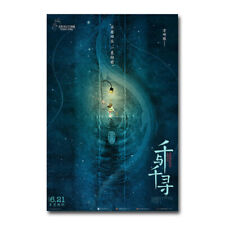 Spirited Away 2019 Movie Official Silk Canvas Poster Print 24x36 inch Home Decor