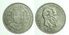 pci0478) Regno Vittorio Emanuele II  lire 5 scudo 1875 Roma NC