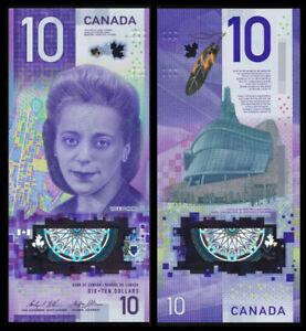 Canada 2018 P-113 $10 Dollar Polymer UNC  - Viola Desmond