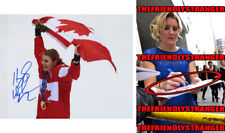 "HAYLEY WICKENHEISER signed ""OLYMPICS"" CANADA GOLD 8X10 PHOTO Exact Proof HOF COA"