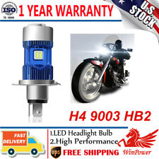H4 9003 HB2 LED Motorcycle Headlight Bulb HID Hi/Low Beam 6000K High Power US