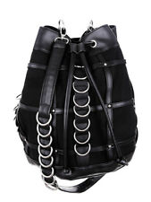 Restyle Cage Sack Bag Tas Gothic Metal Rock Occult Alternative