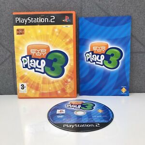 Eye Toy Play 3   PlayStation 2   PS2   Sony   PAL