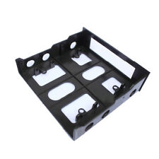 3.5 to 5.25 Drive Bay Computer Case Adapter Mounting Bracket USB Hub Floppy NEW