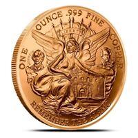 1 oz Copper Round - Texas Commemorative