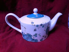 Brand New 222 FIFTH  ELIZA TEAL TEAPOT - A VERY RARE COMPLETER ITEM