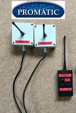 Promatic Clay Pigeon Trap Wireless Radio Pairs 2 Receivers