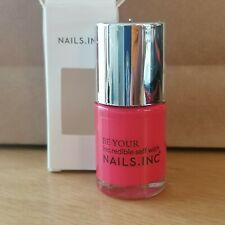 NAILS.INC. nail polish pink Covent Garden Place 10ml New boxed
