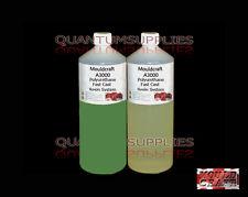 MOULDCRAFT A3000 1kg Verde Fundido Rápido Poliuretano Líquido Plástico Resina de colada
