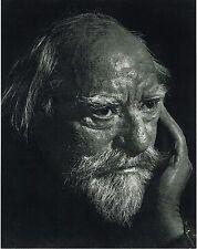 1960s Vintage Augustus John Portrait Yousuf Karsh Photogravure Photo Print