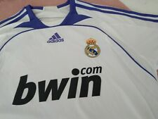 Official adidas mint Real Madrid Shirt 2007/2008. L size