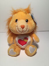 ORANGE CARE BEAR COUSINS BRAVE HEART LION  STUFFED PLUSH TOY