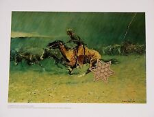 """Vtg 1976 Art Print Frederic Remington The Old West ** 9"""" x 11"""" SEE VARIETY"""