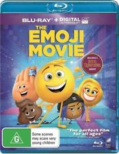 The Emoji Movie (Blu-ray, 2017) Brand New & Sealed