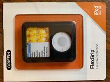Griffin Silicon Black/Gray Case iPod Nano 3G Video 8207-NSLBGY