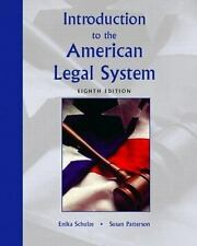 Introduction to the American Legal System (8th Edition)