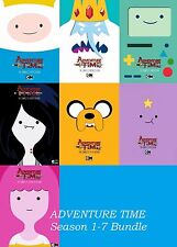 Adventure Time: Complete Series Seasons 1-7  1 2 3 4 5 6 7 (DVD, 2017) NEW
