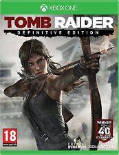 XBOX One Tomb Raider Definitive Edition Gioco Nuovo Di Zecca Sigillato