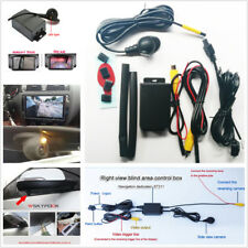 Side View Blind Spot Backup Parking Camera System Two Cameras Switch Control Box