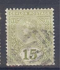 Used Ceylonian Colony Stamps (Pre-1948)