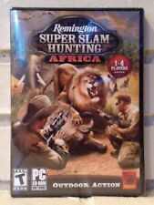 remington super slam hunting --- africa ---  adventure computer game --- new