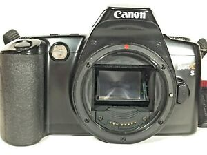 Canon EOS Rebel XS Black 35mm Film SLR Camera Body Only with Strap Made Taiwan